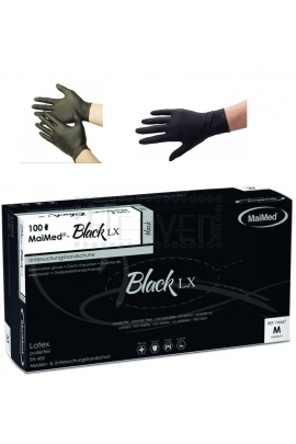 MaiMed Gumové rukavice krátké 100ks