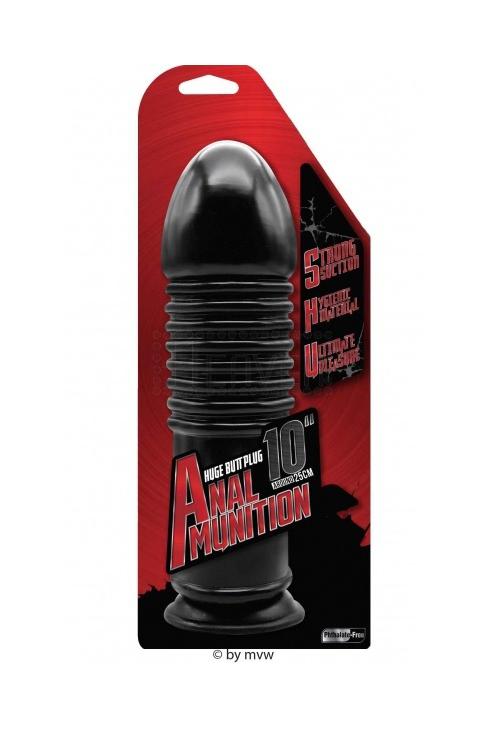 """NMC Anal Munition Huge plug 10"""""""