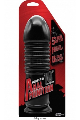 NMC Anal Munition Huge plug 10""