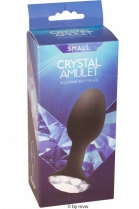 Seven Creations Crystal Amulet Butt Plug S