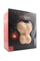 Topco Sales Cyberskin Ass Stroker w. Balls