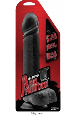 NMC Anal Munition Huge dong 10""