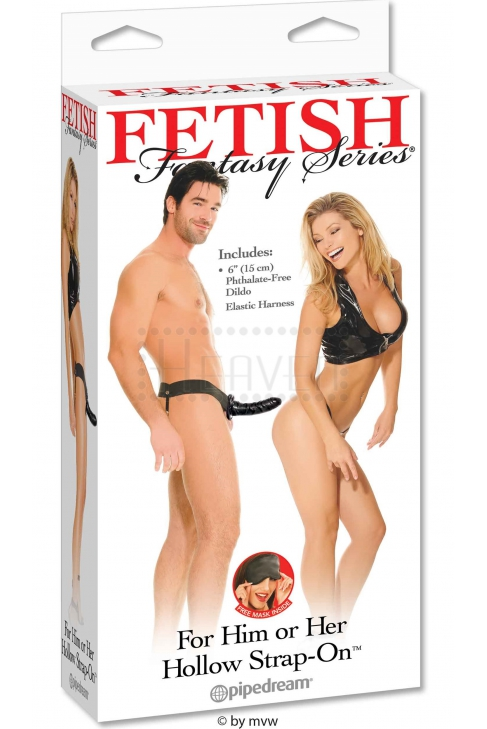 """FF Hollow Strap-On 6"""""""