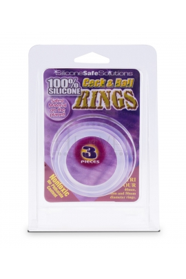 NMC Cock & Ball 3 rings