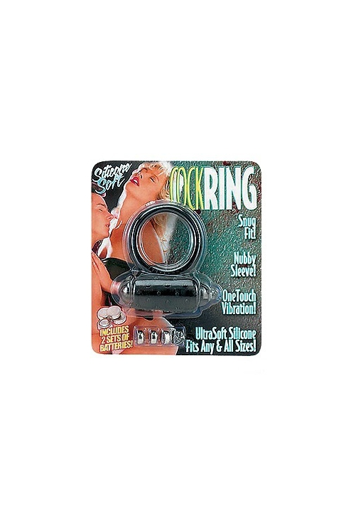 Seven Creations Cockring vibro ultra soft