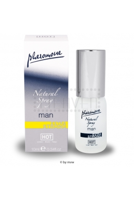 HOT Pheromone Natural Spray Man ES 10ml.