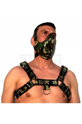 Cockpik Leather Harness Camo