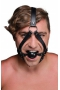 Strict Head Harness + Ball Gag