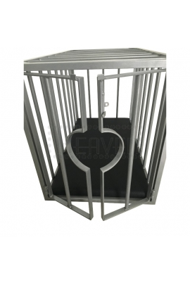 BDSM Metal Cage for Slave/Doggy