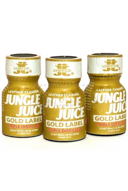 Poppers Jungle Juice Gold Label.10ml. 3 ks