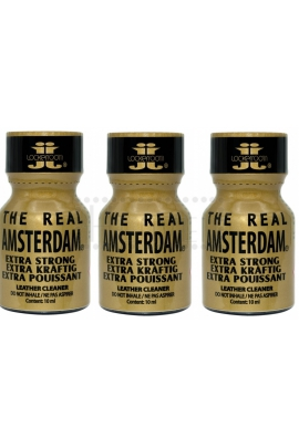 Poppers Real Amsterdam Extra Strong 10ml. 3ks